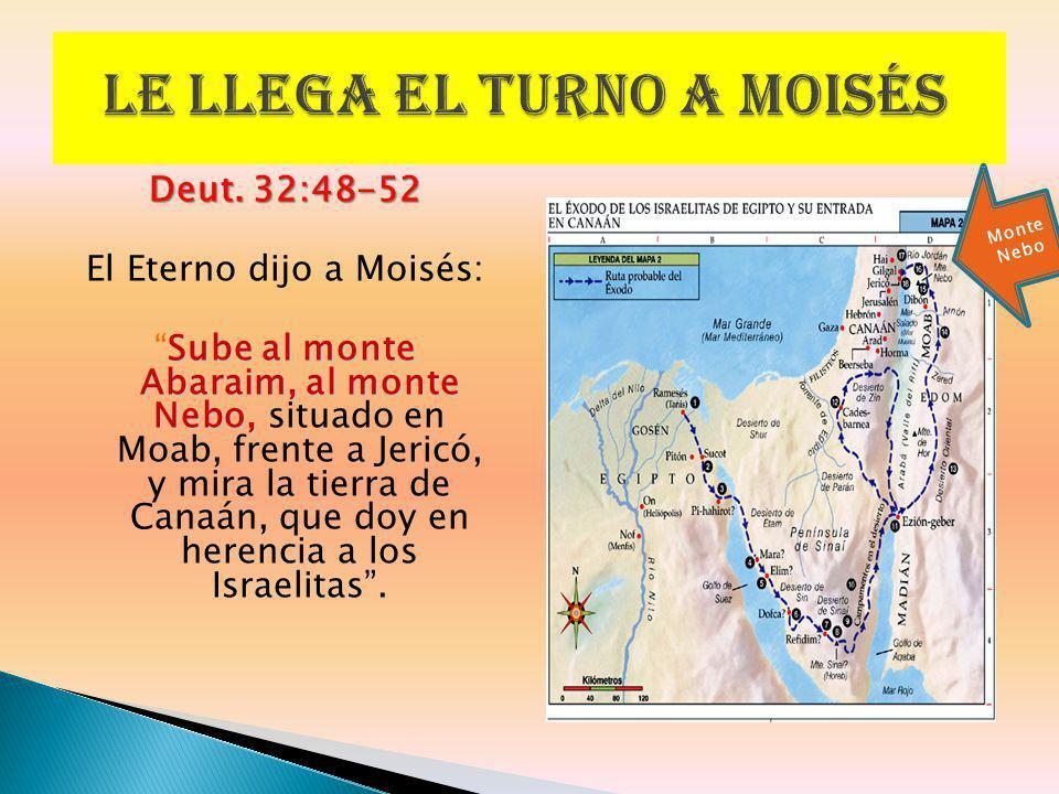 Le llega el turno a Moisés