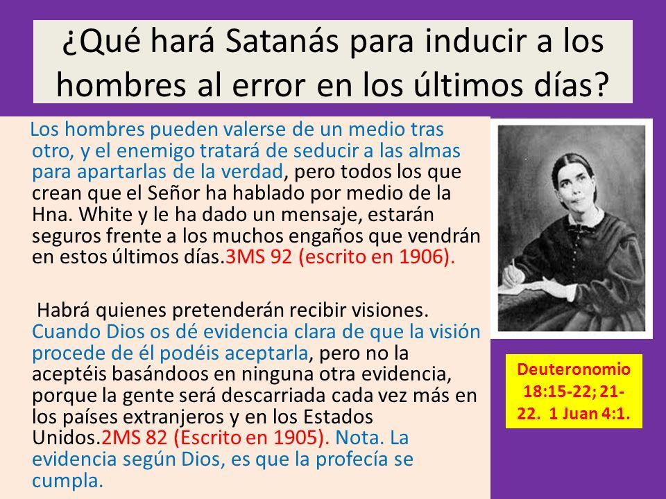 Deuteronomio 18:15-22; 21-22. 1 Juan 4:1.