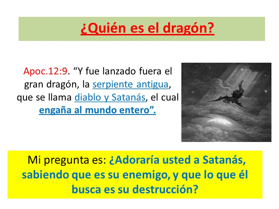 ¿Quién es el dragón