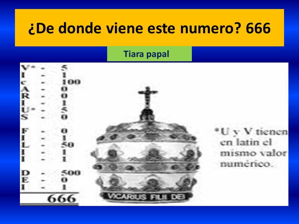 ¿De donde viene este numero 666