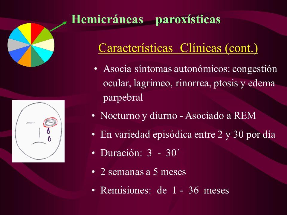 Hemicráneas paroxísticas