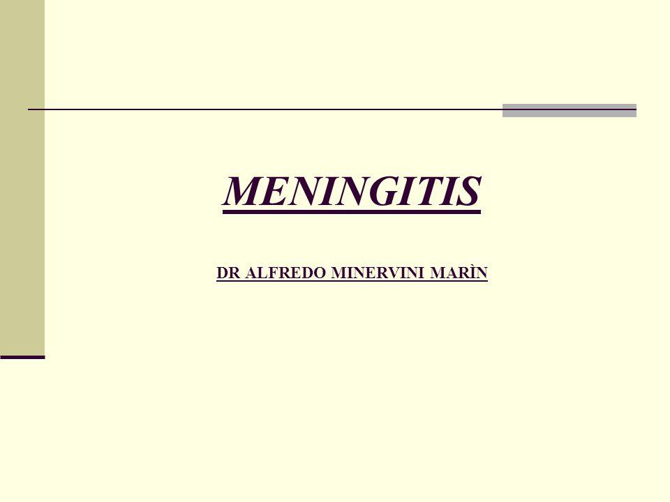 MENINGITIS DR ALFREDO MINERVINI MARÌN