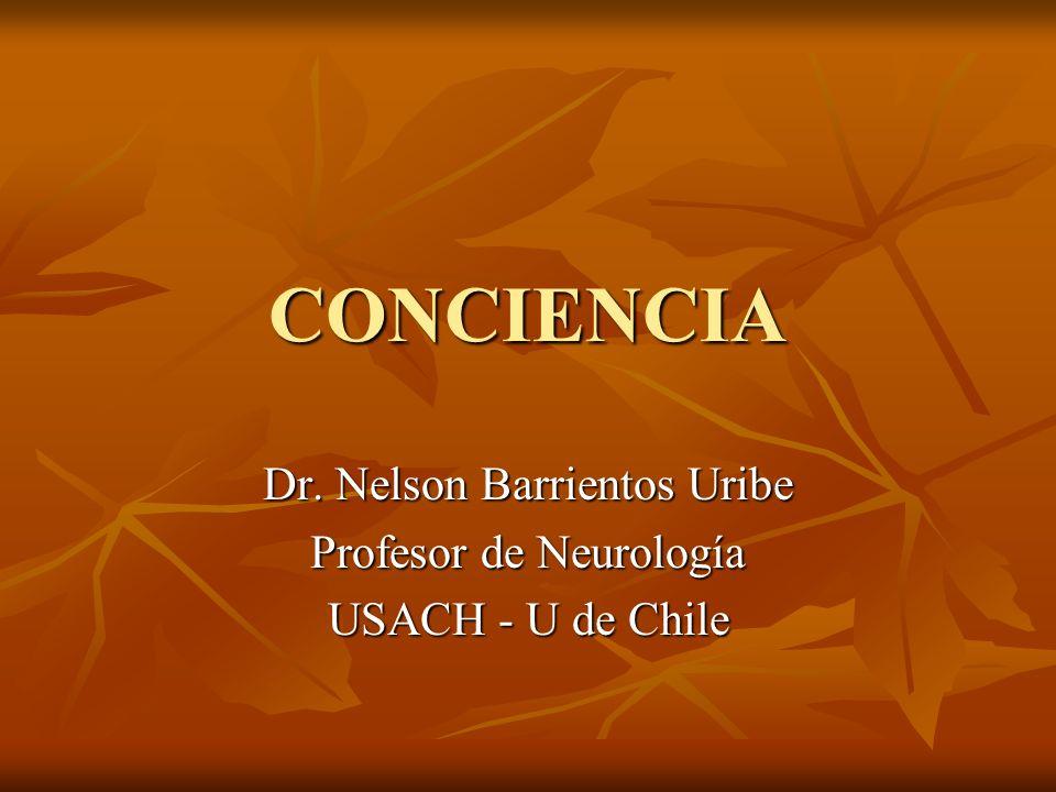 Dr. Nelson Barrientos Uribe Profesor de Neurología USACH - U de Chile