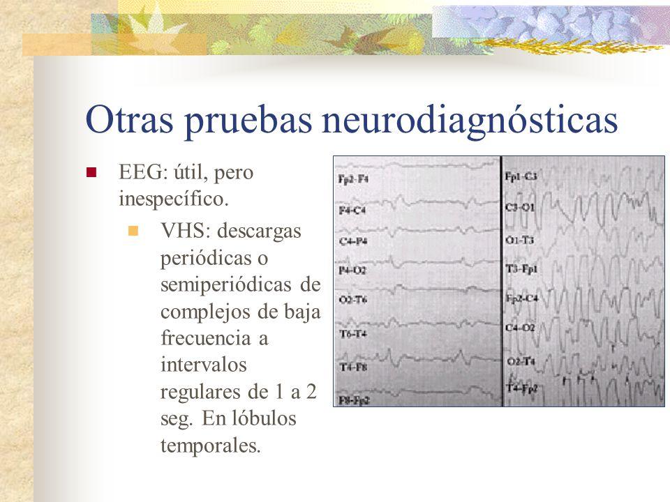 Otras pruebas neurodiagnósticas