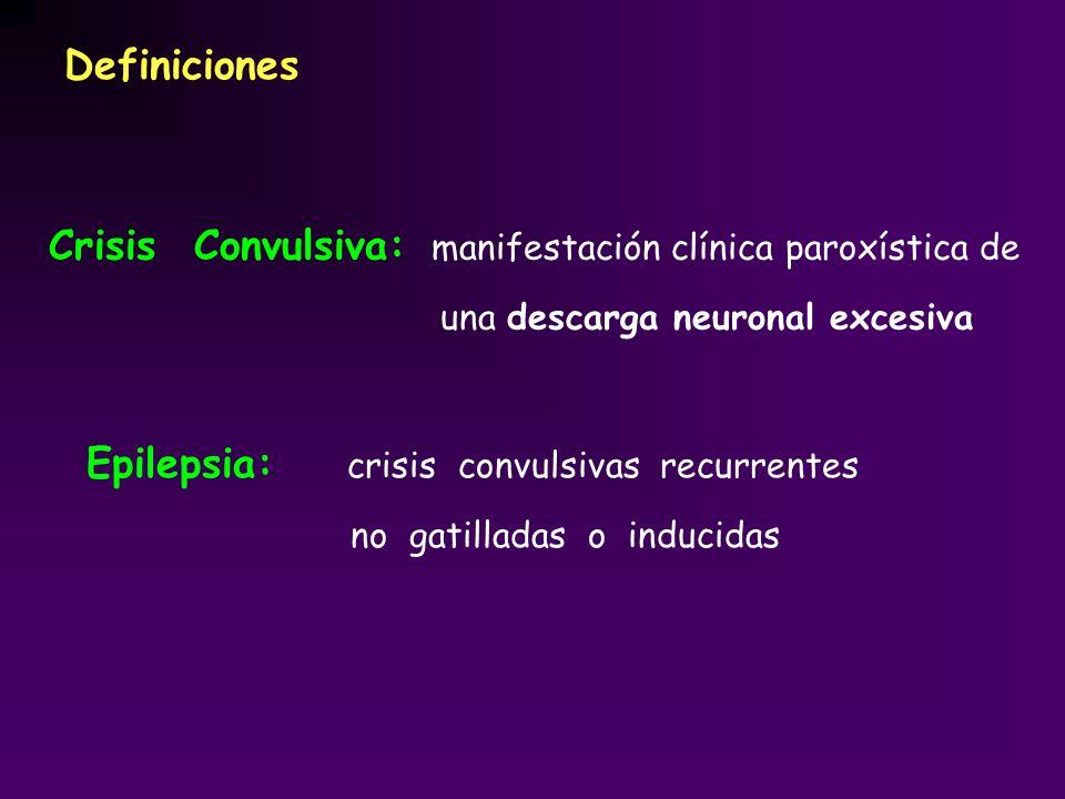 Crisis Convulsiva: manifestación clínica paroxística de