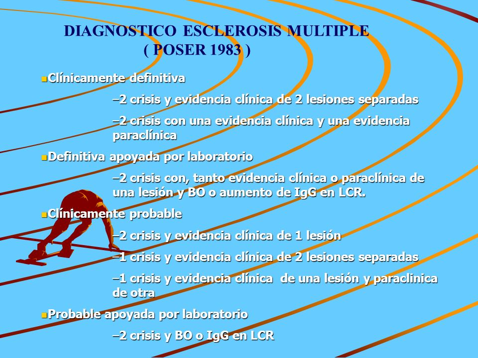 DIAGNOSTICO ESCLEROSIS MULTIPLE ( POSER 1983 )