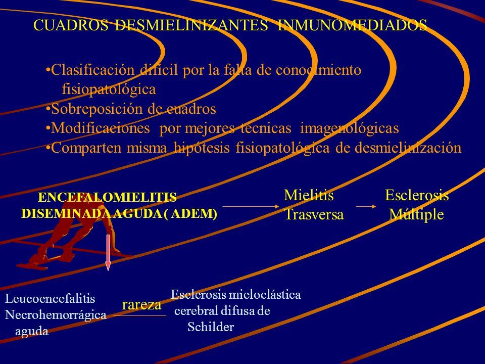 CUADROS DESMIELINIZANTES INMUNOMEDIADOS