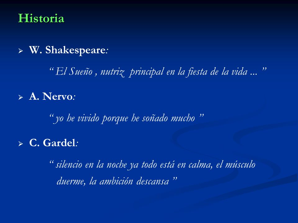 Historia W. Shakespeare: