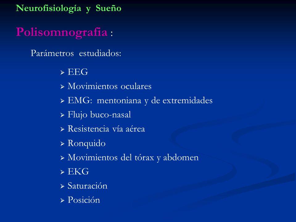 Neurofisiología y Sueño