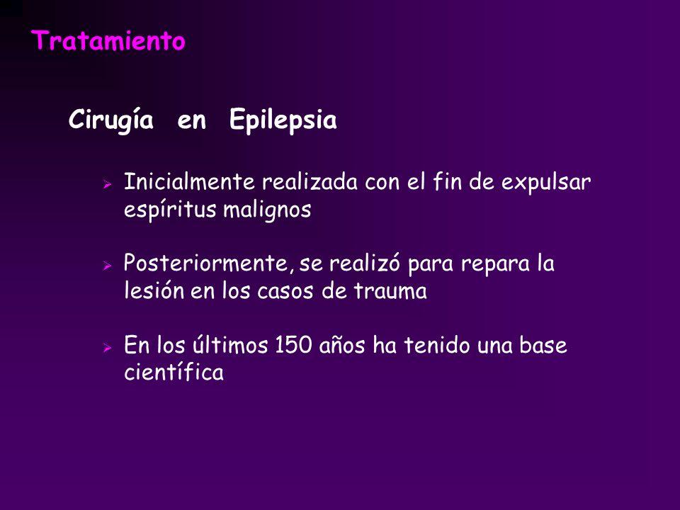 Tratamiento Cirugía en Epilepsia