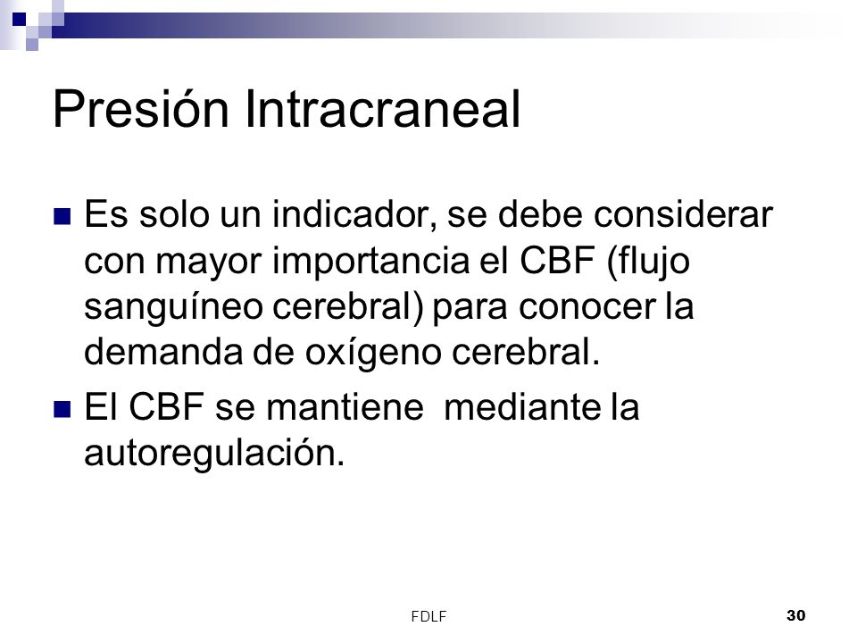 Presión Intracraneal