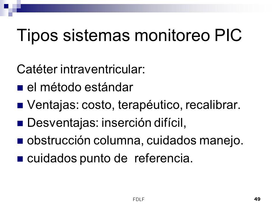 Tipos sistemas monitoreo PIC