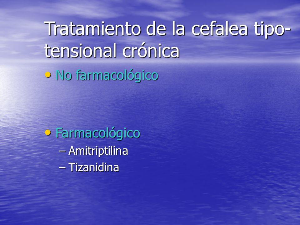 Tratamiento de la cefalea tipo-tensional crónica