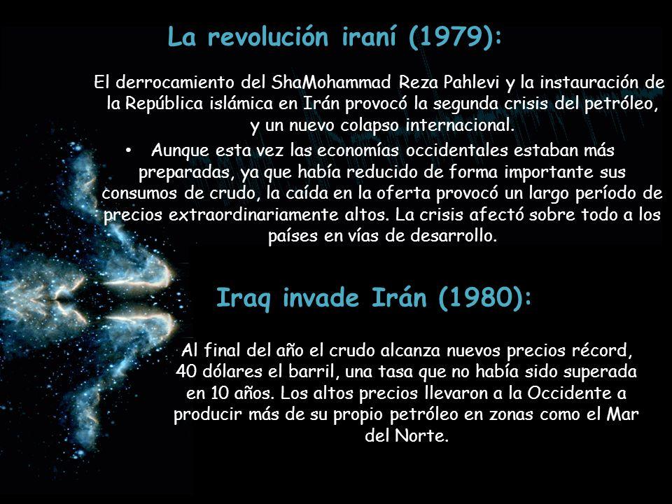 La revolución iraní (1979):