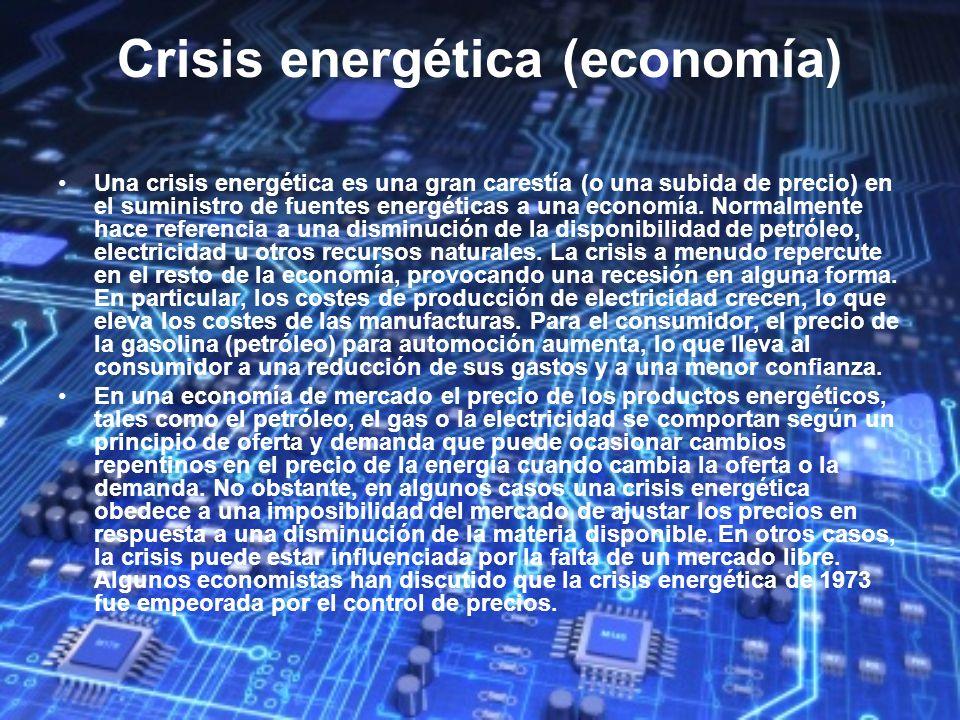 Crisis energética (economía)