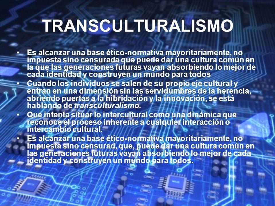 TRANSCULTURALISMO