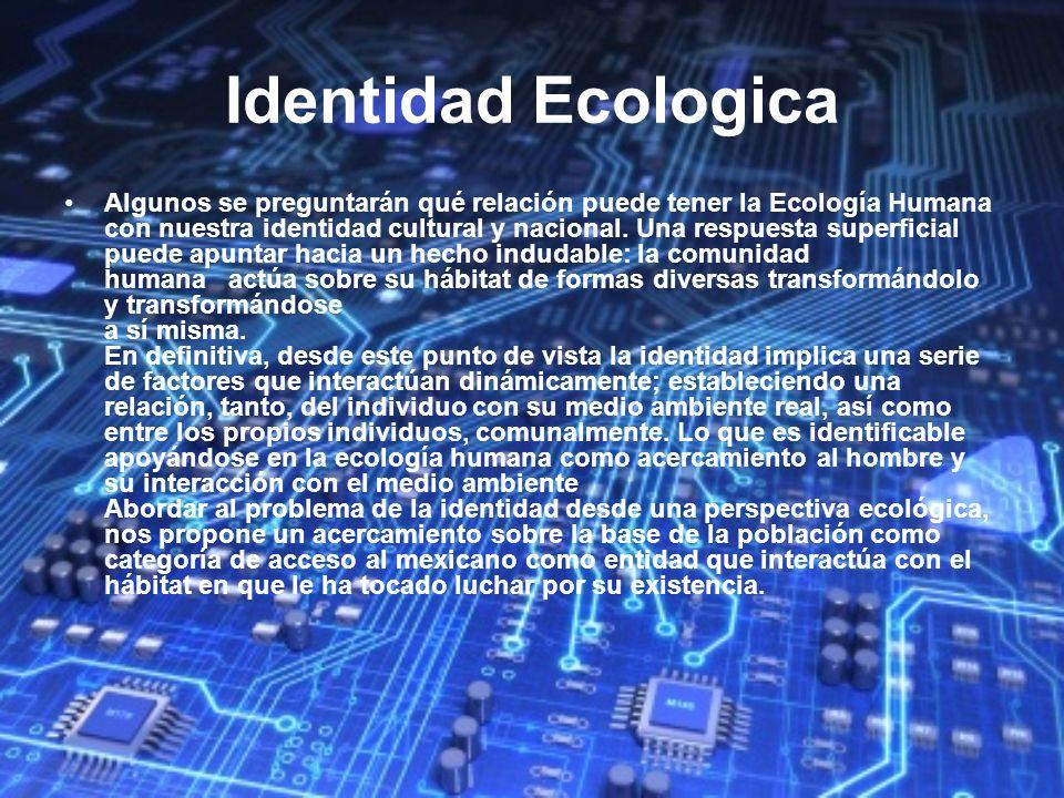 Identidad Ecologica