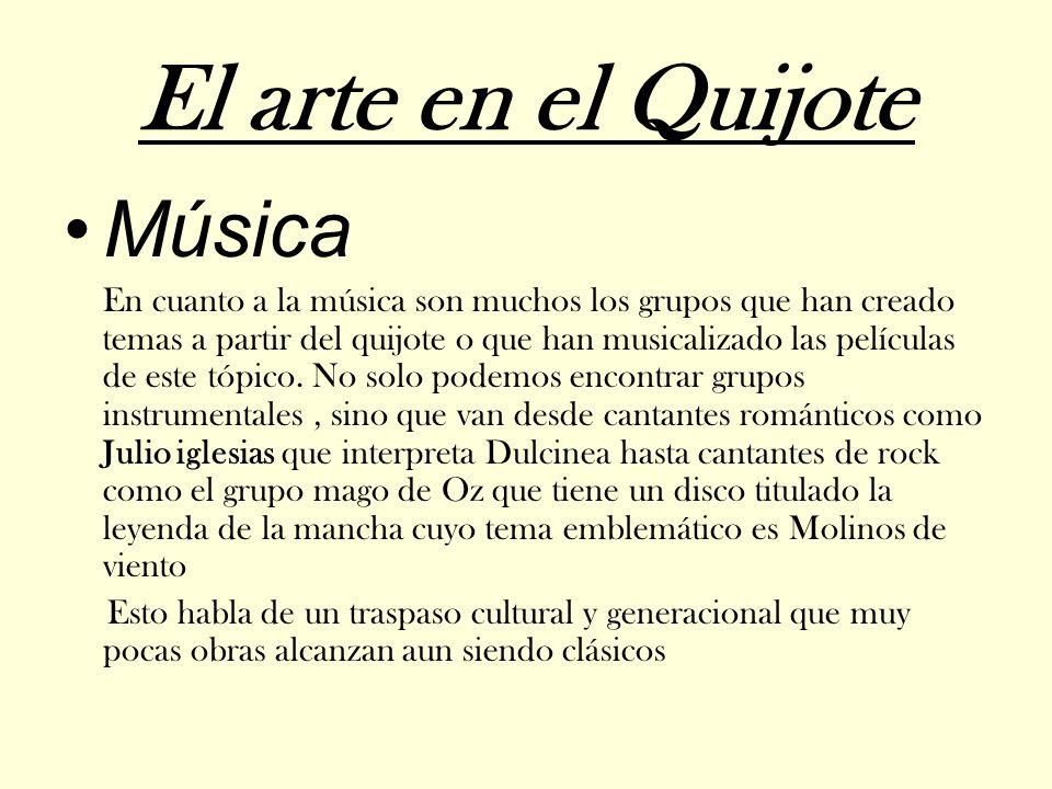 El arte en el Quijote Música