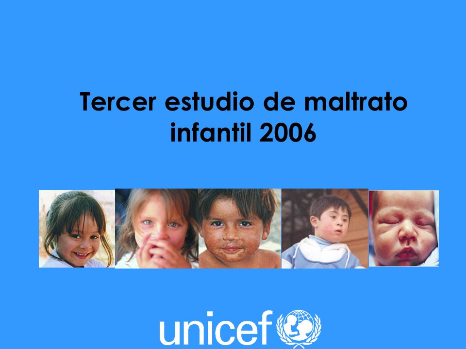 Tercer estudio de maltrato infantil 2006