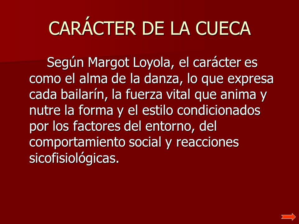 CARÁCTER DE LA CUECA