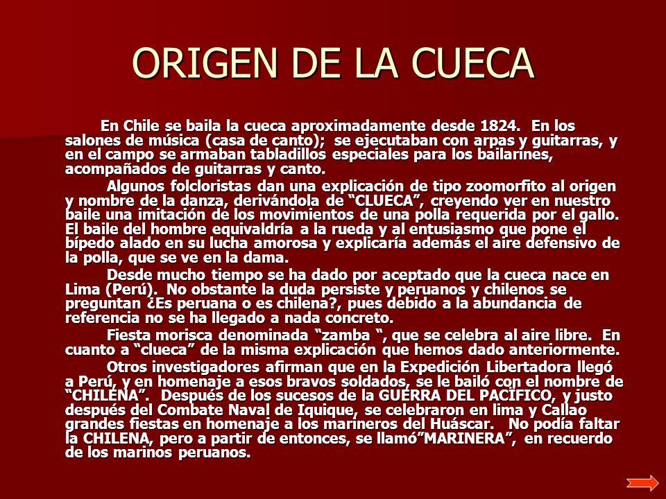 ORIGEN DE LA CUECA