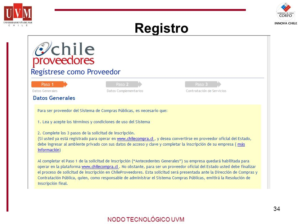 Registro NODO TECNOLÓGICO UVM