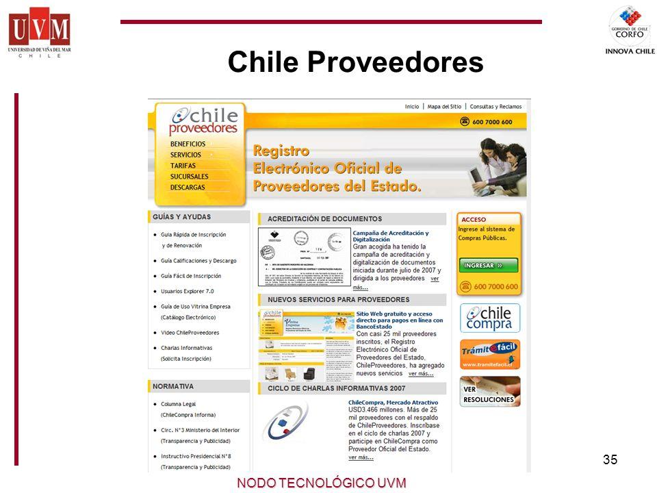 Chile Proveedores NODO TECNOLÓGICO UVM