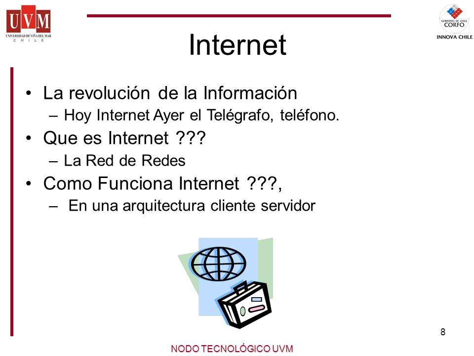 Internet La revolución de la Información Que es Internet
