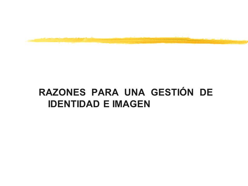 RAZONES PARA UNA GESTIÓN DE IDENTIDAD E IMAGEN
