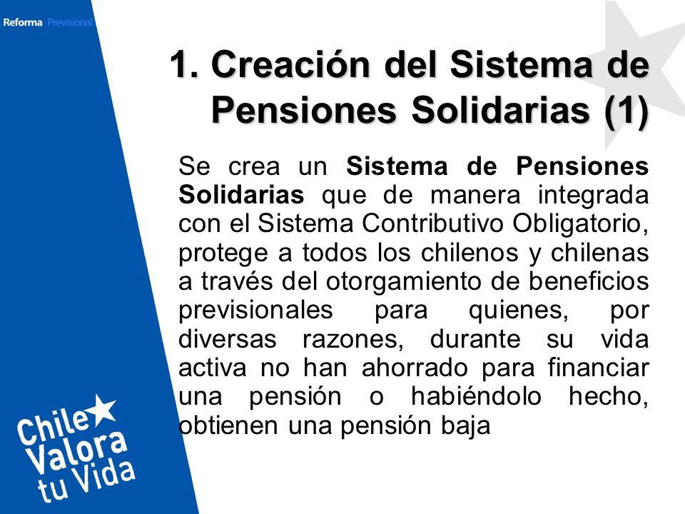 1. Creación del Sistema de Pensiones Solidarias (1)