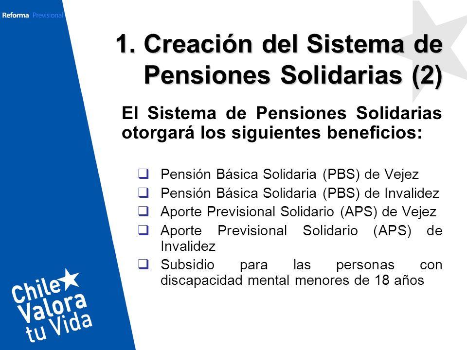 1. Creación del Sistema de Pensiones Solidarias (2)