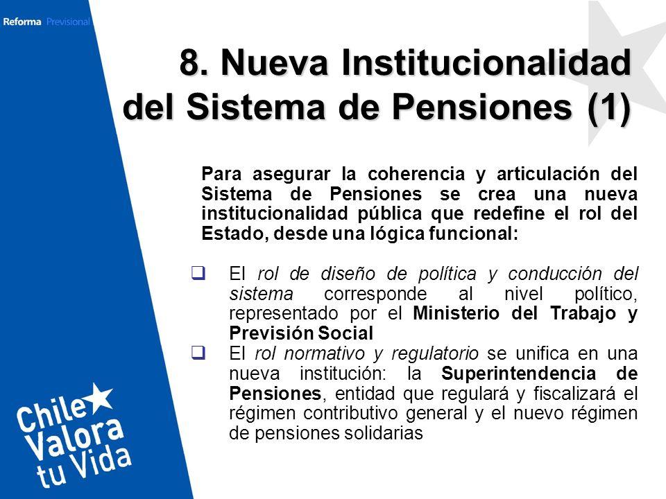 8. Nueva Institucionalidad del Sistema de Pensiones (1)
