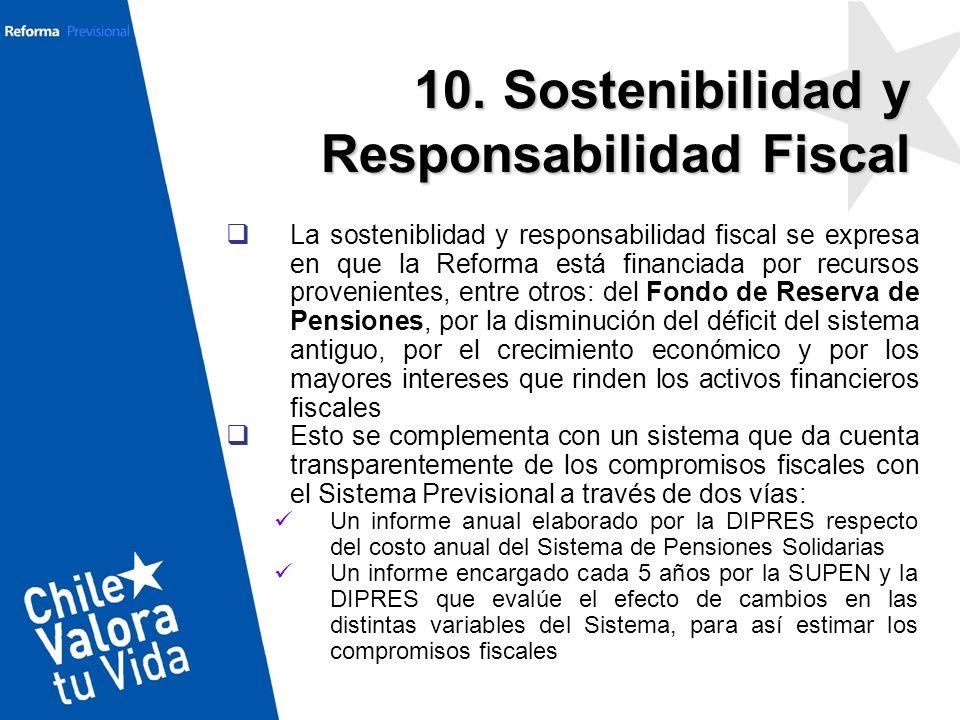 10. Sostenibilidad y Responsabilidad Fiscal