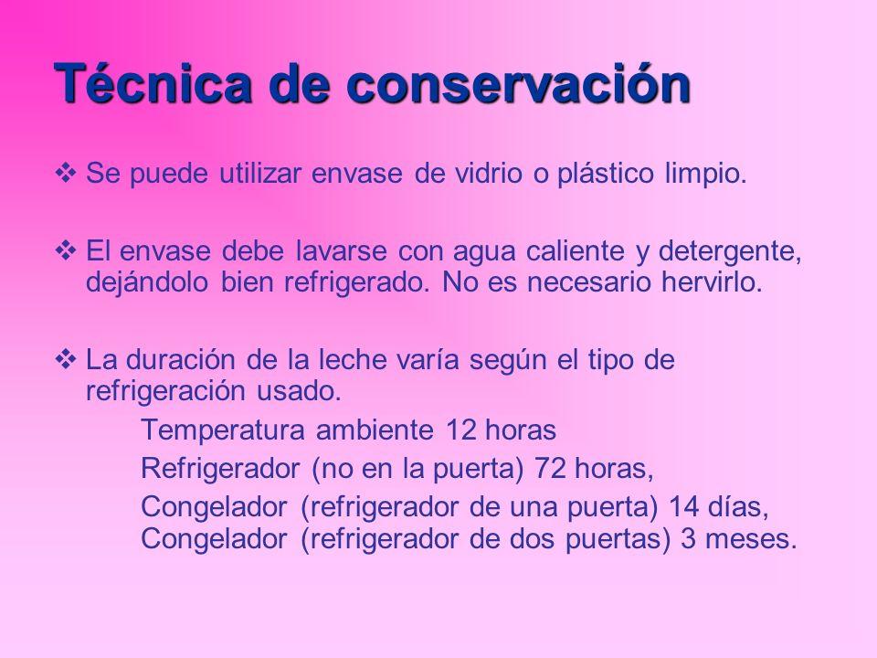 Técnica de conservación