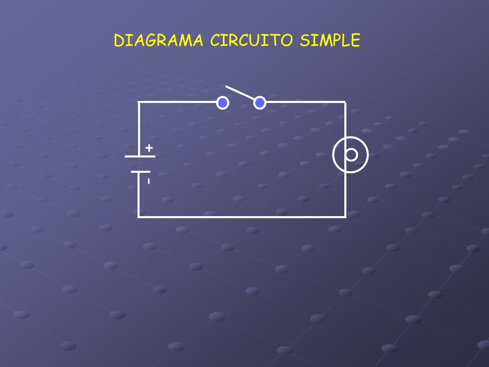DIAGRAMA CIRCUITO SIMPLE