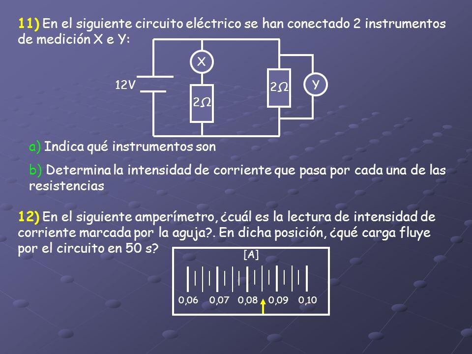 a) Indica qué instrumentos son