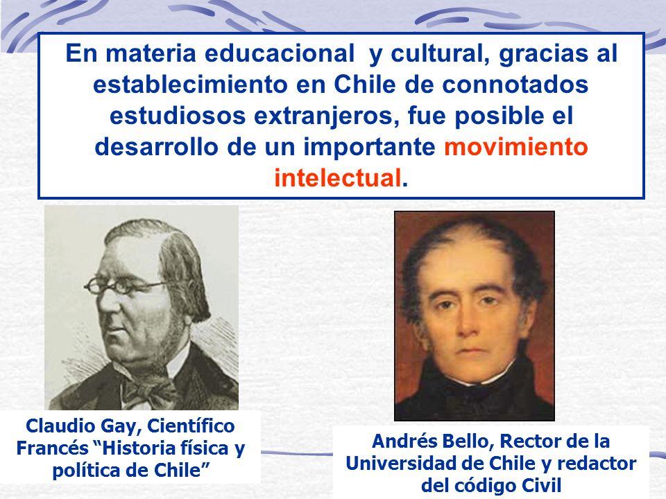 Claudio Gay, Científico Francés Historia física y política de Chile
