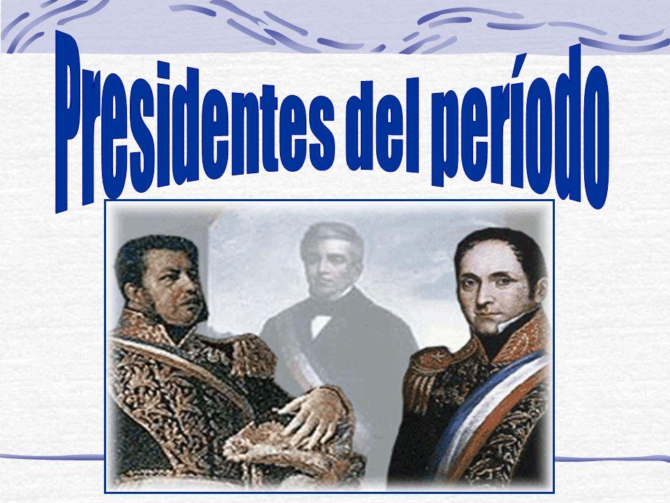 Presidentes del período