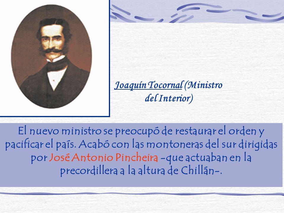 Joaquín Tocornal (Ministro del Interior)