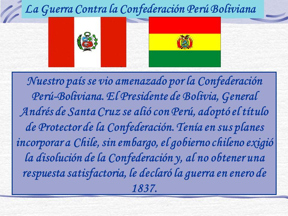 La Guerra Contra la Confederación Perú Boliviana