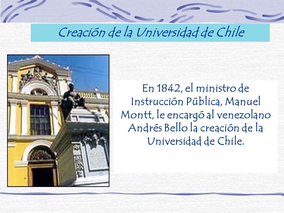 Creación de la Universidad de Chile