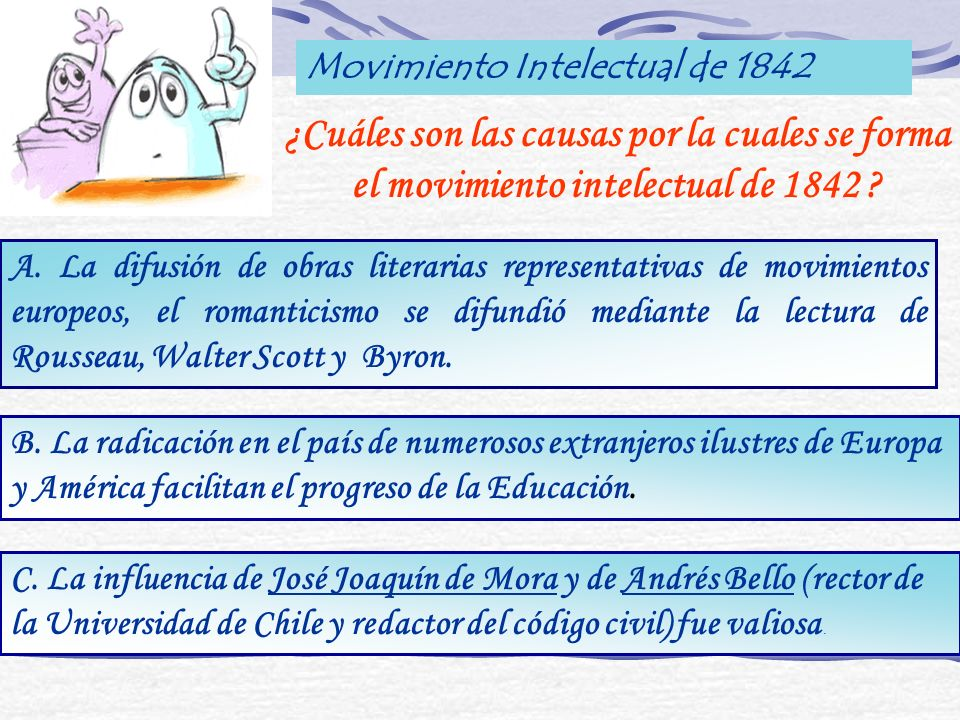 Movimiento Intelectual de 1842