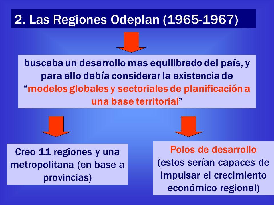 Creo 11 regiones y una metropolitana (en base a provincias)