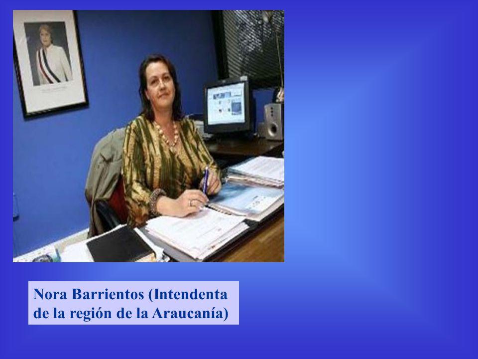 Nora Barrientos (Intendenta de la región de la Araucanía)