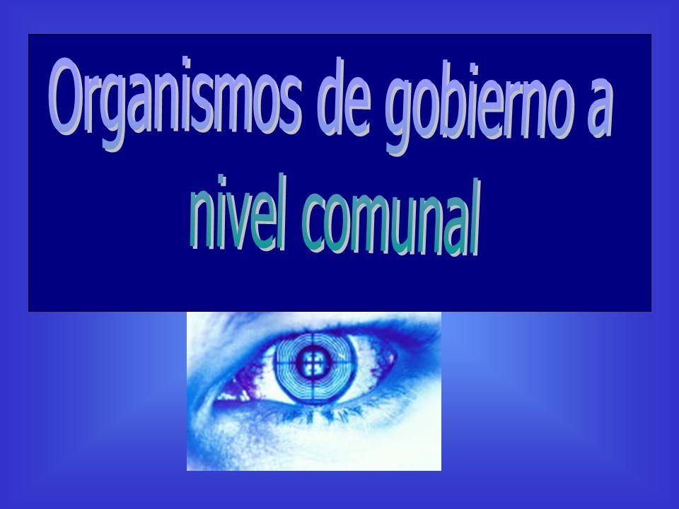 Organismos de gobierno a