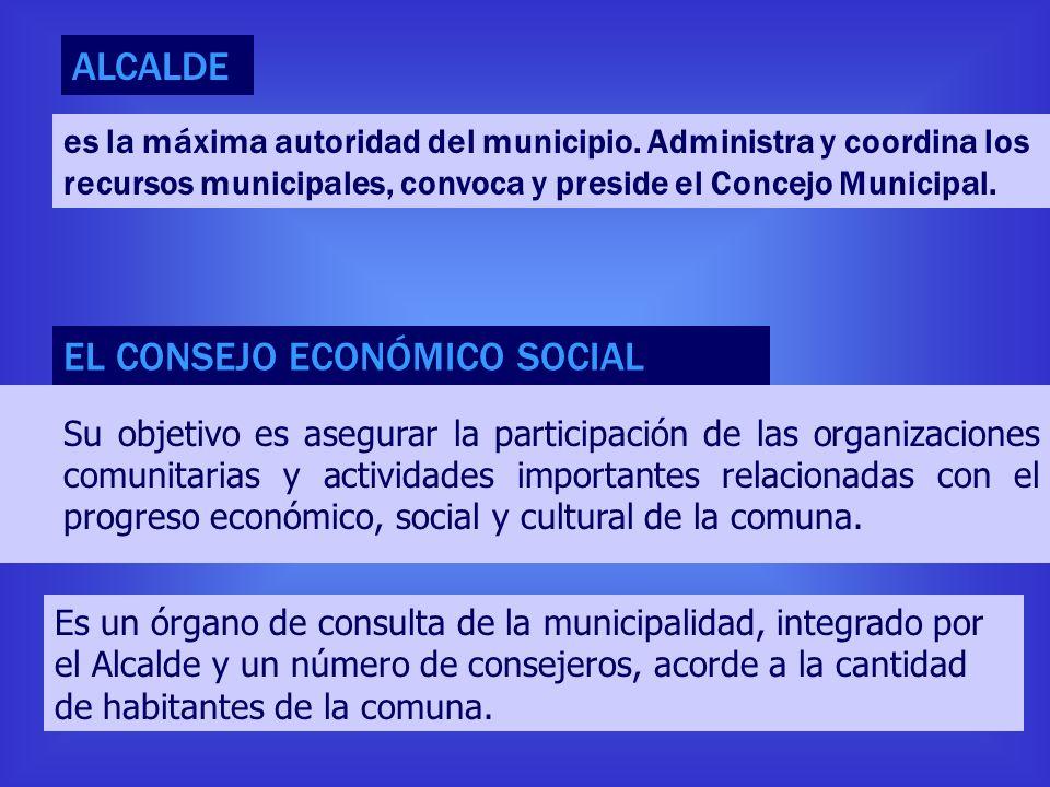 EL CONSEJO ECONÓMICO SOCIAL