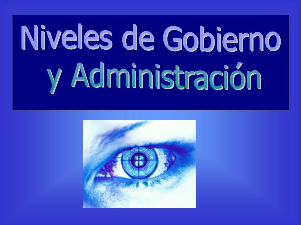 Niveles de Gobierno y Administración