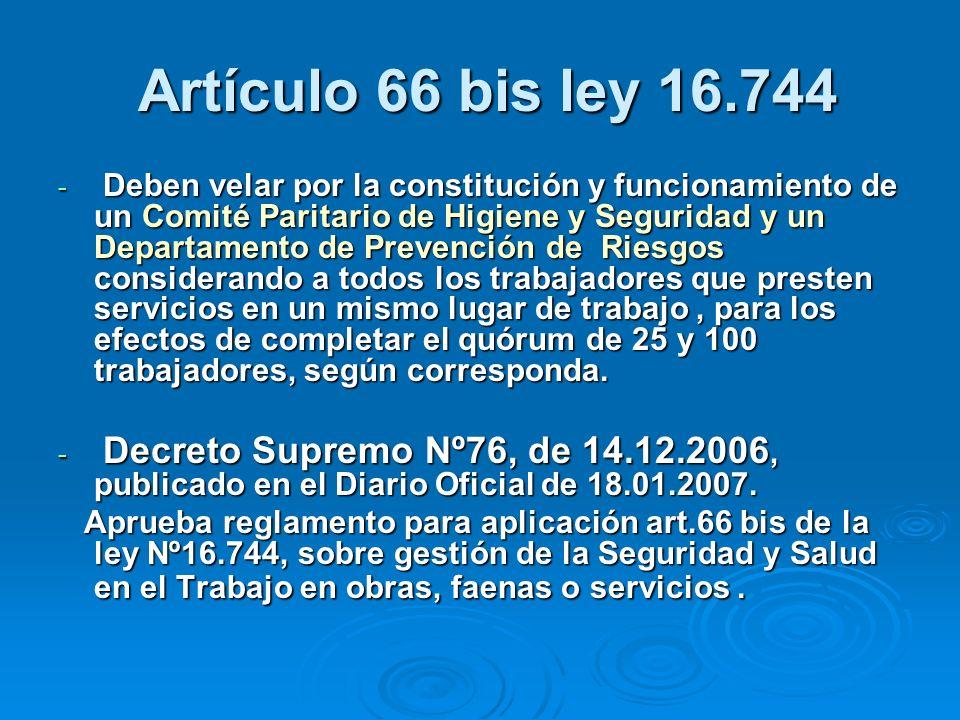 Artículo 66 bis ley 16.744