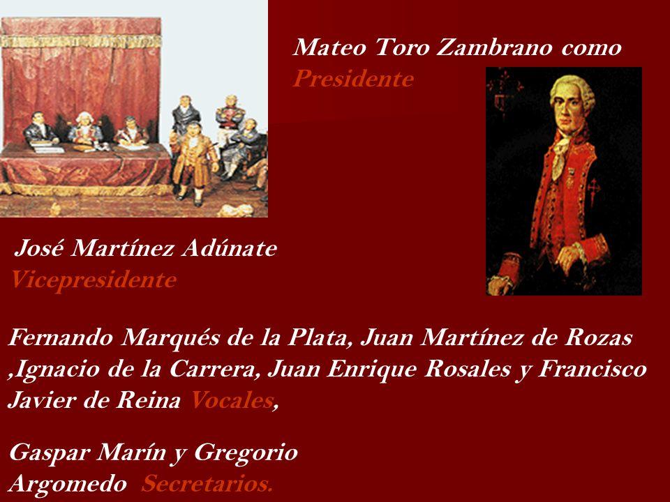 Mateo Toro Zambrano como Presidente