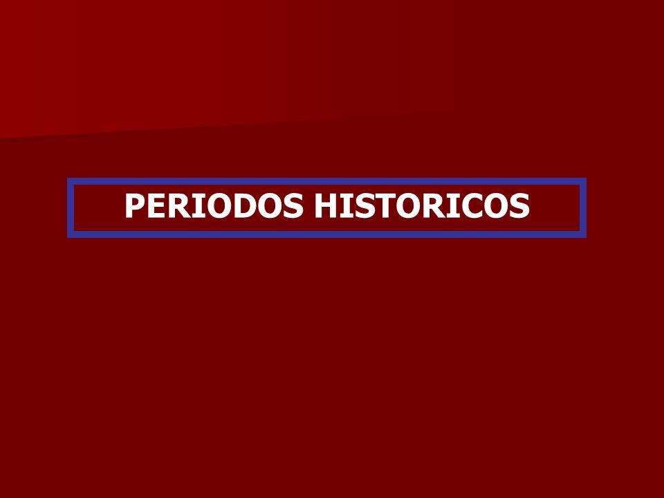 PERIODOS HISTORICOS